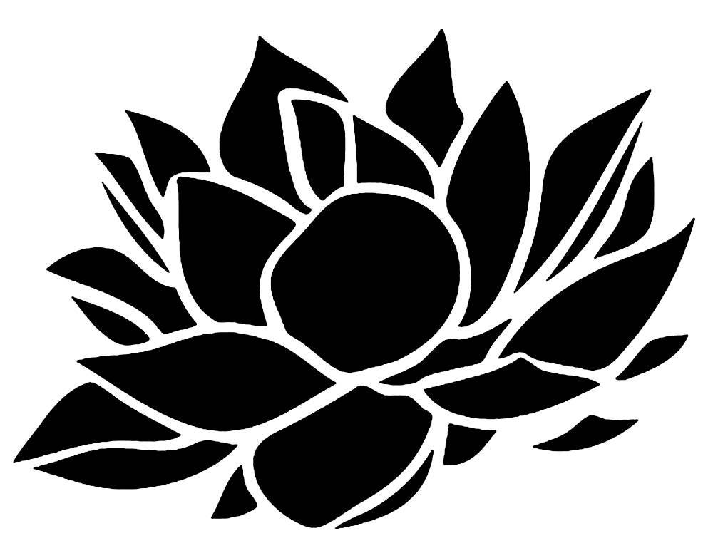 Flower Stencil Www Pixshark Com Images Galleries With