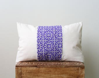 12x20 inch Thai embroidery pillow cover