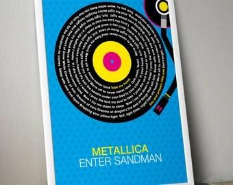 metallica enter sandman lyrics pdf