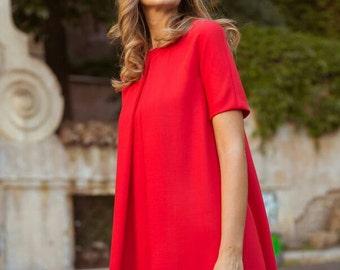 Kim Dress - Red Dress