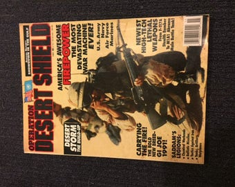 Vintage Desert Shield Magazine
