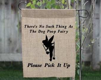 Dog Poop, Dog Poop Sign, Funny Garden Sign, Yard Signs, Yard Flags, Garden Flag, Garden Sign, Poop, Custom Flag, Camping Flags, Personalized