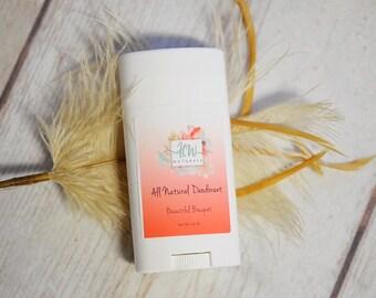 Natural Deodorant (Beautiful Bouquet) - Organic Deodorant - Handmade Deodorant - Natural Deodorant - Natural Deoderant - Organic Deoderant
