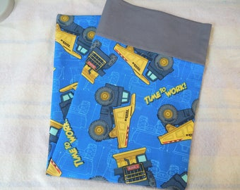 Sale!!!!!! Tonka Truck Pillowcase-Tonka Trucks-Dump Trucks-Construction Bedding- Tonka-Truck-Standard Size-100% Cotton