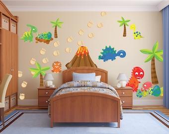 Dinosaur Decor For Boyu0027s Nursery Boyu0027s Nursery Dinosaur Wall Stickers  Dinosaur Nursery Wall Decals Huge Dinosaur