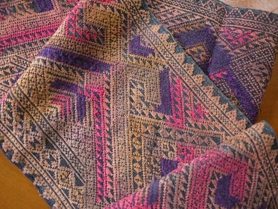 Table Runner, Lao Thai Silk Textile   Sarong Decoration Style   Narrow  Table Runner   Silk Weaving From AsianTextileStudio On Etsy Studio