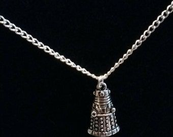 Doctor Who and Daleks inspired necklace