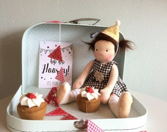 Waldorfdoll party girl