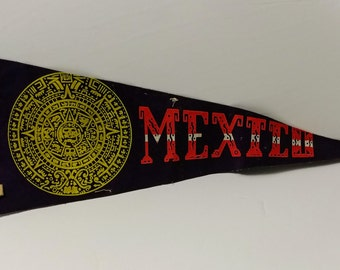 Mexico - Vintage Pennant