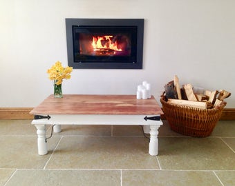 Up cycled farmhouse coffee table