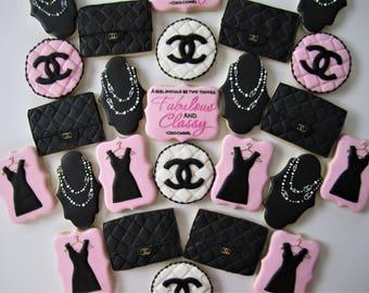 Chanel Cookies/Fashionista cookies