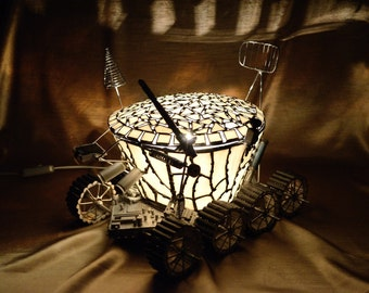 "Night lamp Moon rover ""Lunokhod"""