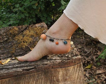 Solar System Ankle Bracelet