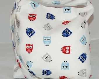 Women's Owl Shoulder Bag Handmade Great Britain