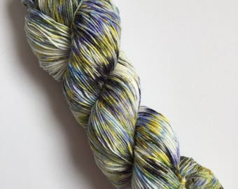 Arabian Nights Speck-Al Hand Dyed Sock Yarn 100g DYED TO ORDER