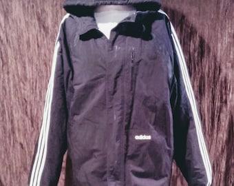 Adidas XL reversible men's jacket, free shipping