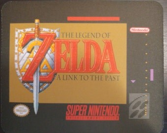 Zelda a link to the past mousepad! NTSC. Others available.
