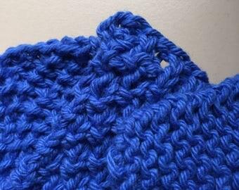 Textured Knit Wash Cloth Pattern Set