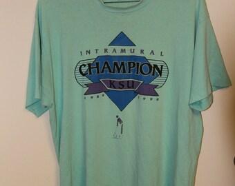 Vintage Kansas State T-shirt // Vintage Kansas State Shirt // 90s Kansas State shirt // 80s Kansas State Shirt // Kansas State shirt // KSU