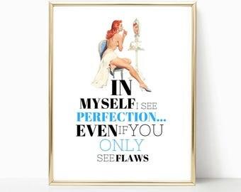 fashion print, fashion quote, gift for girlfriend, gift for daughter, gift ideas, bff gift, fashion illustration, gift for girls, fashion