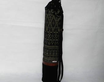 Yoga bag, handmade, one of a kind