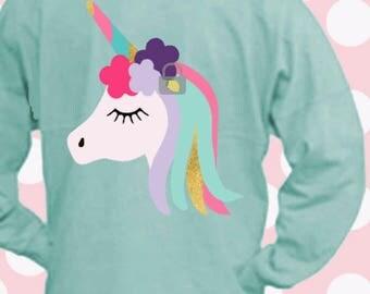 Unicorn svg, unicorn cricut, unicorn silhouette, SVG, DXF, eps, cut, unicorn clip art, rainbow svg, Rainbow Unicorn, Kawaii, unicorn, cricut