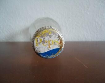Vintage Pepsi bottle - Old Pepsi bottle - Vintage glass bottle - Pepsi soda bottle - 6 Oz Pepsi bottle - Antique Pepsi bottle - Old glass