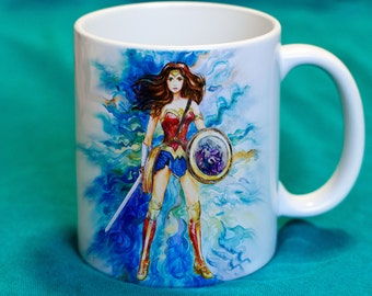 Mug with a picture Wonder Woman / Justice League