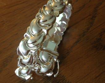 Fancy Sterling Silver Bracelet