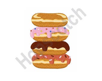 Stack of Donuts - Machine Embroidery Design