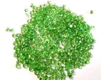 10 pcs Lot 2mm Natural Tsavorite Green Garnet Round Faceted gemstone