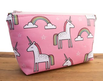 Unicorn Makeup Bag Set - Make Up Bag - Unicorn Birthday Gift for Daughter - Best Friend Gift - Large Makeup Pouch - Cute Makeup Bags #21
