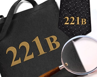 Sherlock Holmes 221B Embroidery Design File