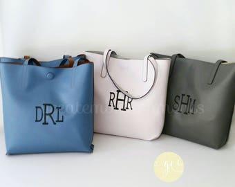 Custom Tote Bag, Personalized Reversible Tote Bag,Personalized and and Custom Bags, Monogrammed Purse, Tote Bag, Custom Diaper Bag