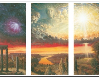 Genesis - Fine Art Greeting Card (blank inside)