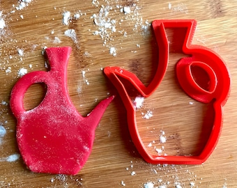 Ethiopian Clay Coffee Pot / Jebena cookie cutter