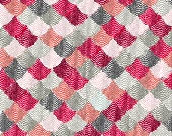 """Hipster - Scallops by Riley Blake Shannon Lamden 100% cotton Fabric by the yard 36""""x43"""" (M212)"""