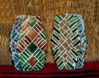 Votive Candle Holder, Gel Candel, Star Wars TIE Fighter Shaped Handmade Mosaic Candle Holder, Tealight Holder, Unique Gift, Mosaic Decor