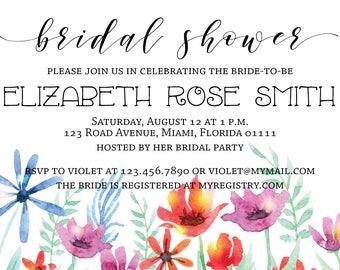 Bridal Shower Invitation **Printable**