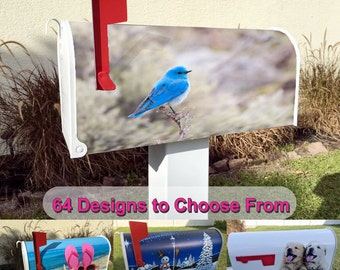 Bluebird Magnetic Mailbox Cover