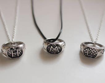 The ShadowHunters inspired Crest Family Ring Necklaces