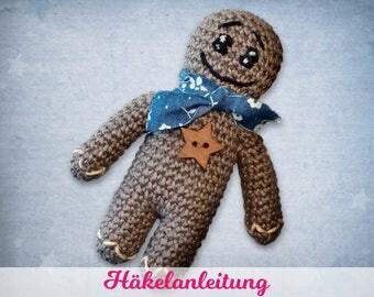 """Häkelanleitung """"Lebkuchenmännchen"""" eBook"""