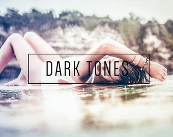 Dark Tones Indie Muse Collection 3 Presets  4 Tool Presets 9 LR Brushes Lightroom Presets for Professional Results by LouMarksPhoto