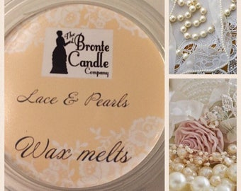 Lace & Pearls Wax Melt Pot