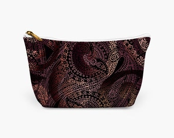 Paisley Accessory Pouch