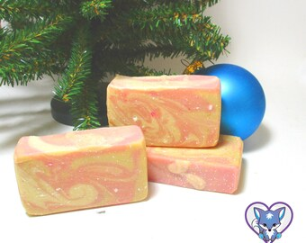Champagne Goat Milk Soap | Easter Baskets for Adults | Easter Basket Stuffers for Adults | Gifts for Her