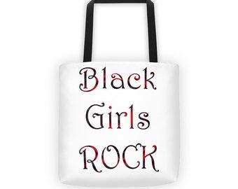 Black Girls Rock Tote bag, Girl's Tote Bag