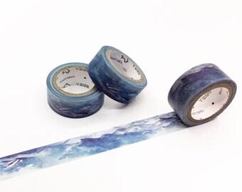 Ocean Waves Washi Tape - Season's Color Series