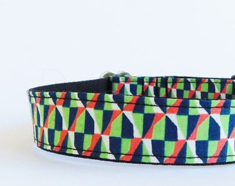 Abstract dog collar for boy Cat collar Summer Designer dog accessories For puppies Medium, small, big Male pet gift Toy dog Cool Modern