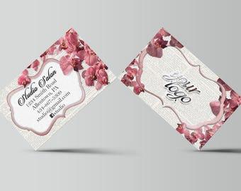 Salon Professional - Flower Business Card
